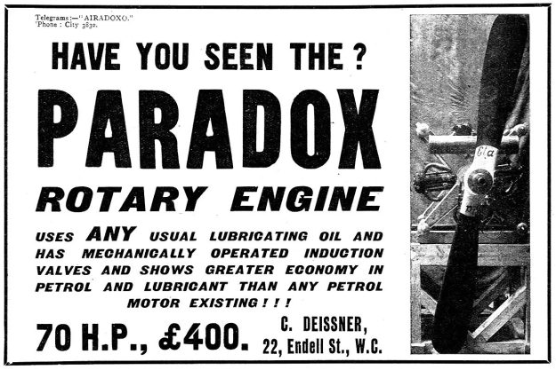 Deissner Paradox Ad