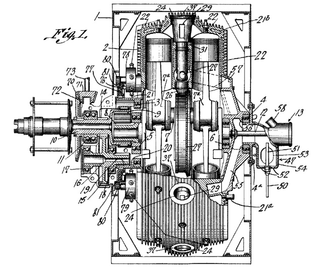 tips-1917-18-cylinder-rotary-engine