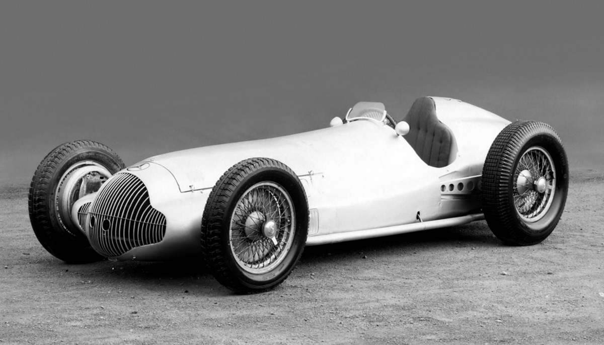 Mercedes grand prix car