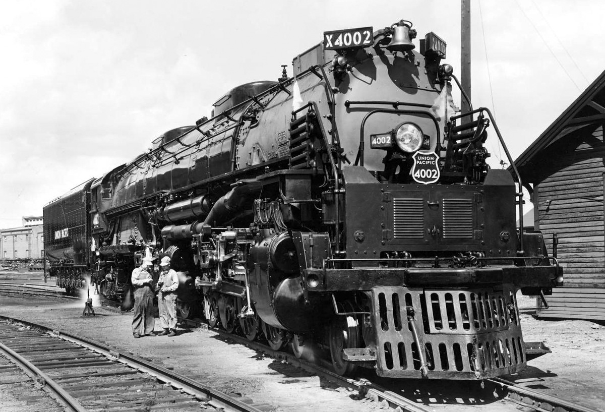 Union Pacific 4-8-8-4 Big Boy Locomotive | Old Machine Press