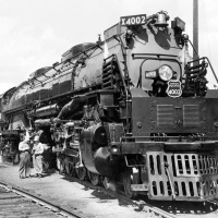 Union Pacific 4-8-8-4 Big Boy Locomotive
