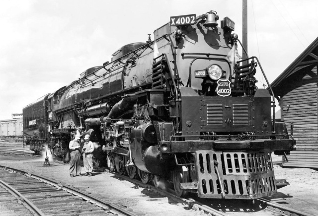 Union Pacific 4 8 8 4 Big Boy Locomotive Old Machine Press