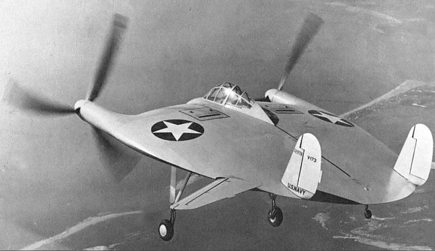vought-v-173-in-flight