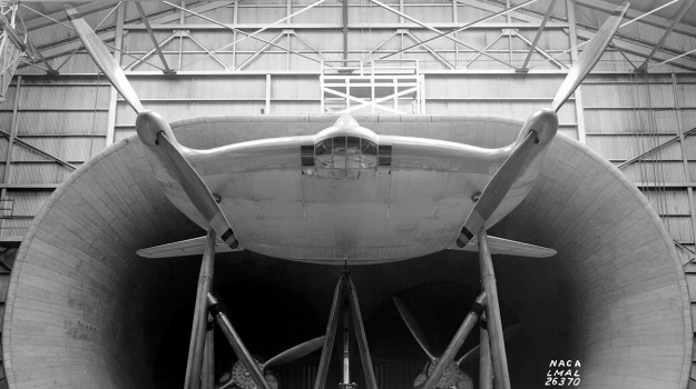 vought-v-173-wind-tunnel-front