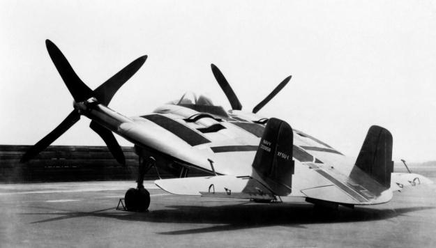 vought-xf5u-rear