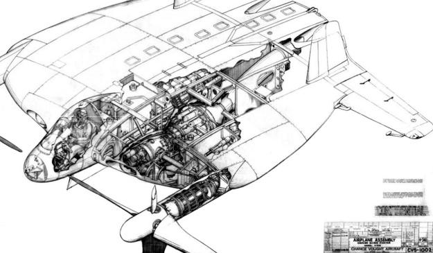 xf5u-jet-engine-v-341