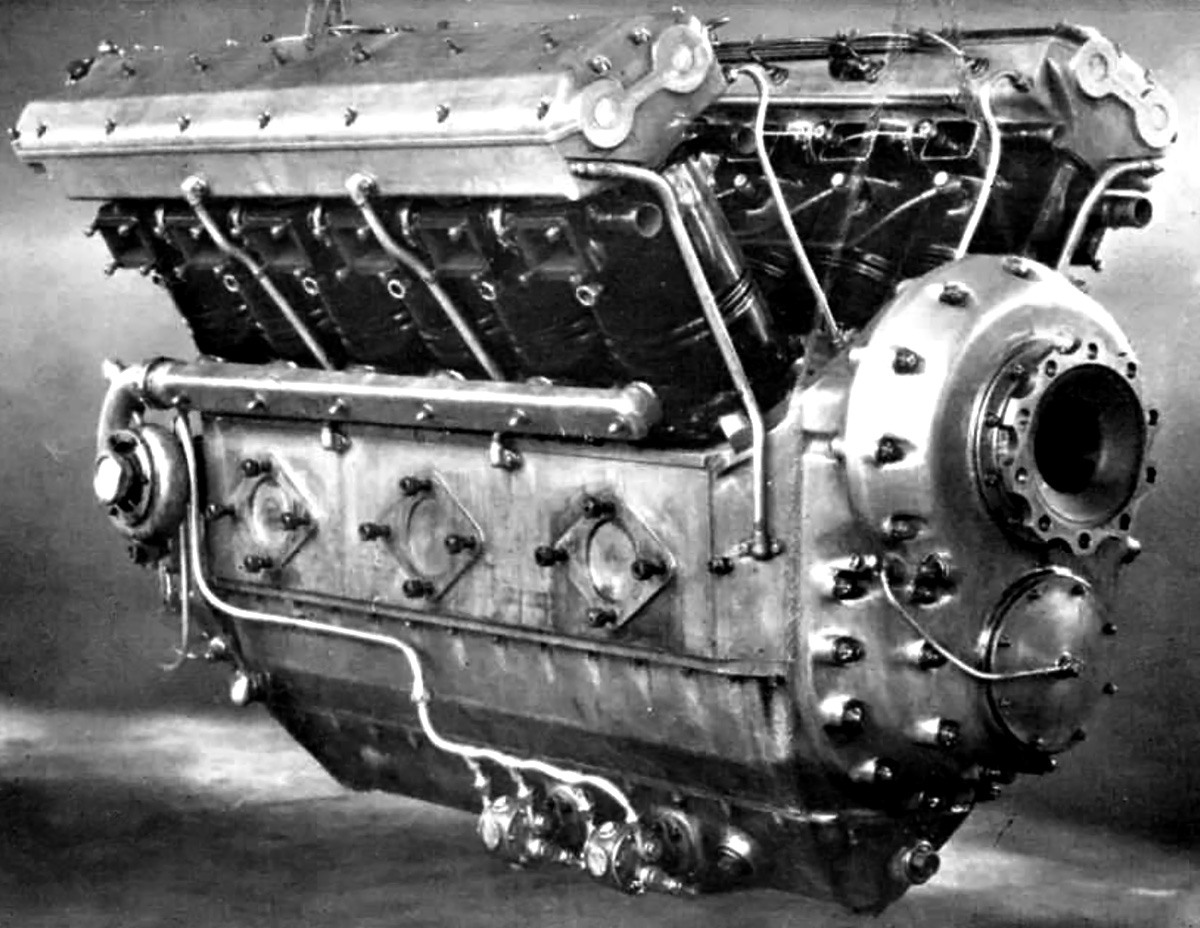 Between The Wars Old Machine Press Page 2 Double Overhead Cam Engine Diagram Daimler Benz Of Diesel Was Very Similar To Spark Ignition