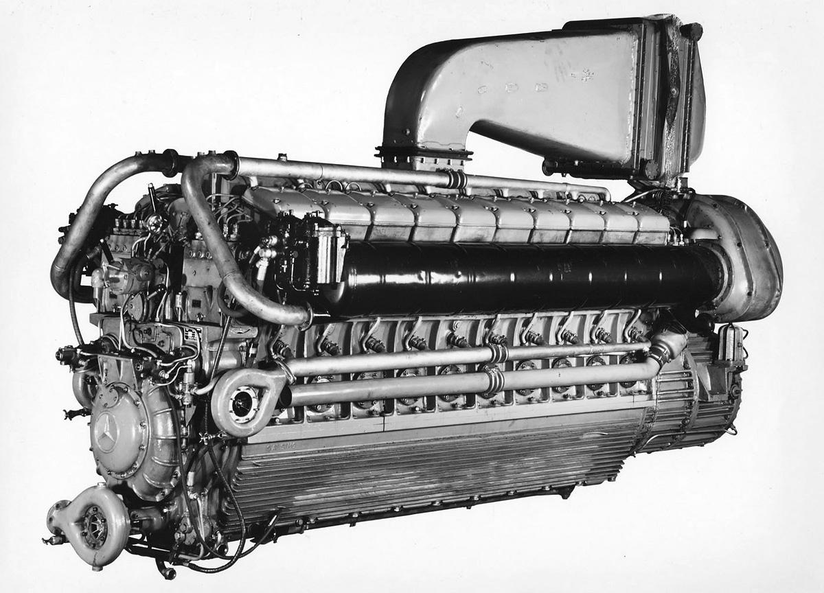 Mercedes Benz 500 Series Diesel Marine Engines
