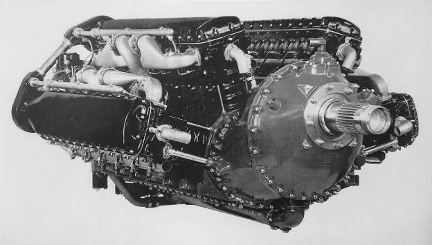 Allison V-3420-A front