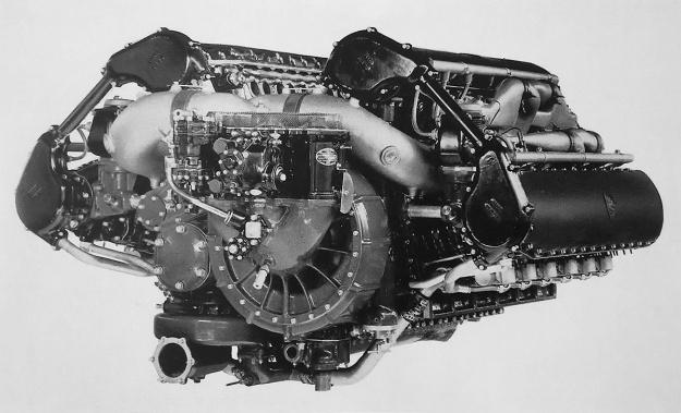 Allison V-3420-A rear