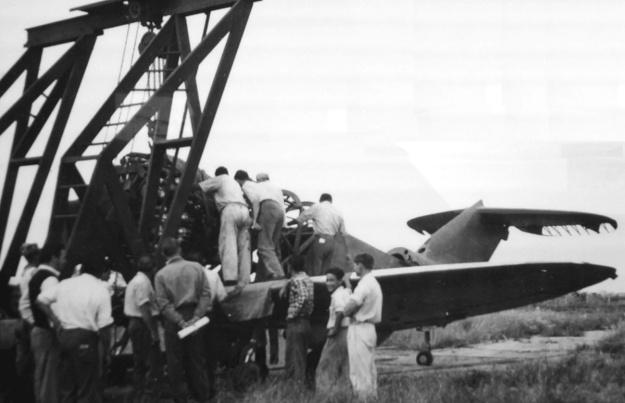 CTA - ITA Convertiplano engine hoist