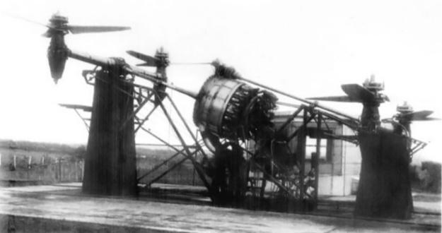 CTA - ITA Convertiplano engine test rig