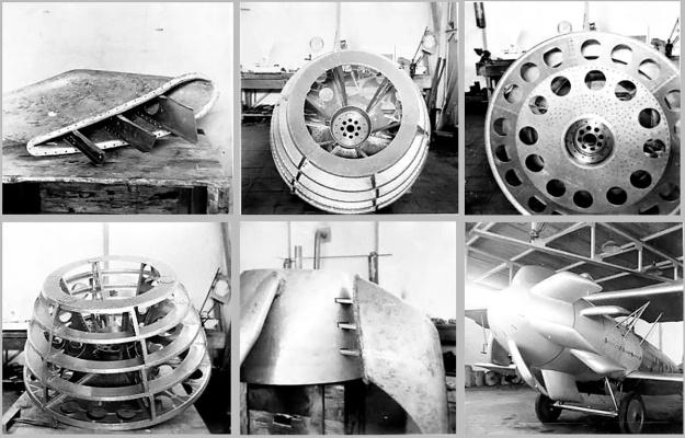Dekker propeller construction