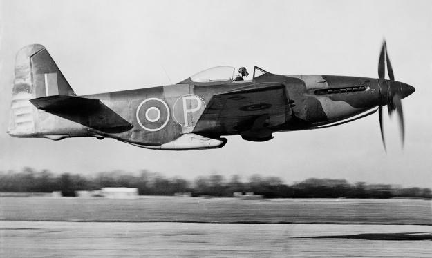 Martin-Baker MB5 takeoff