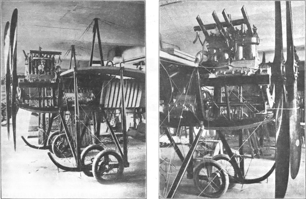 Rumpler Loutzkoy-Taube Argus engines