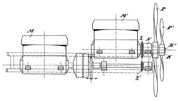 Rumpler Loutzkoy-Taube patent