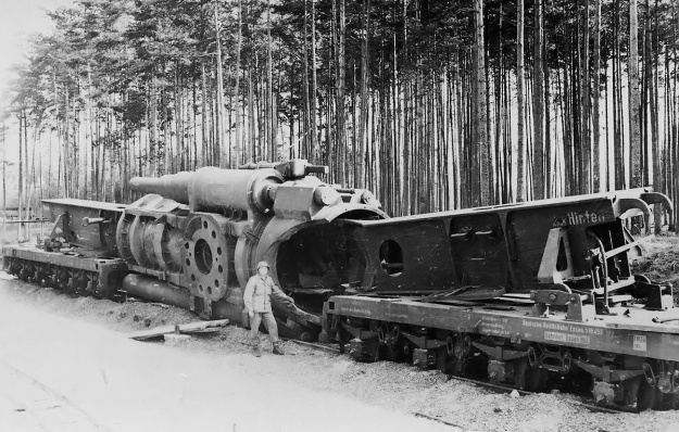Schwerer Gustav 1 destruction