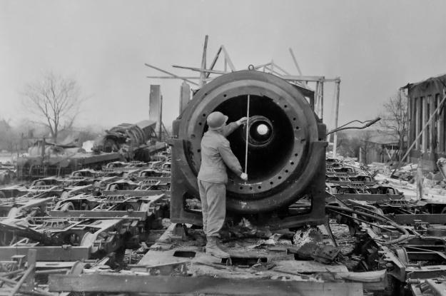 Schwerer Gustav 2 destruction