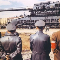 Krupp 80 cm Kanone Schwerer Gustav (Dora) Railway Gun