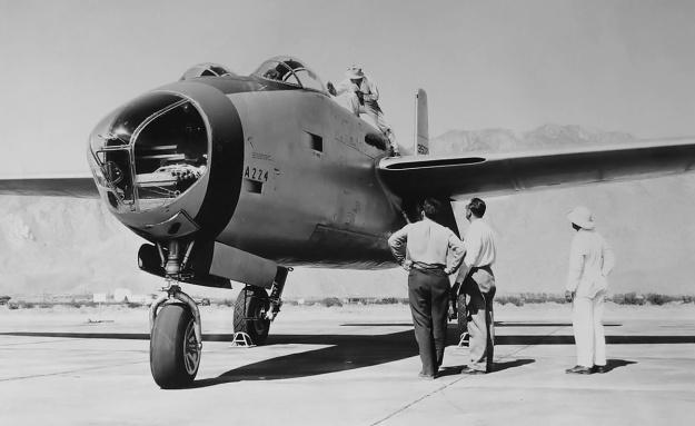 Douglas XB-42 no1 nose
