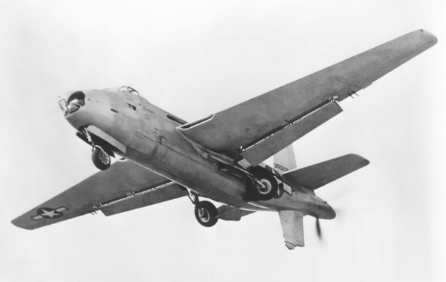 Douglas XB-42 no2 gear retract