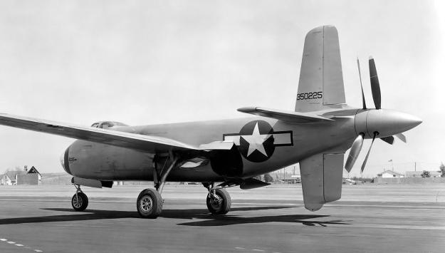 Douglas XB-42 no2 rear