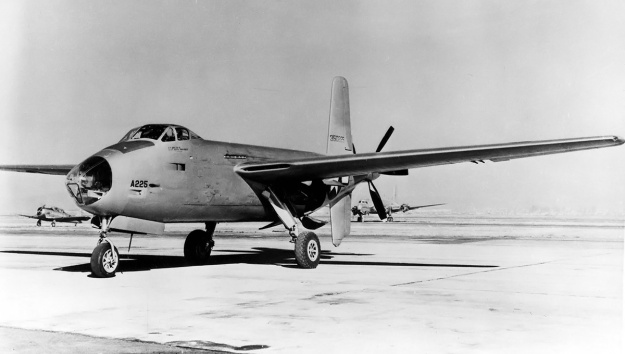 Douglas XB-42 no2 with canopy