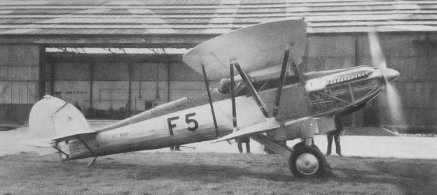 Fairey Fox II P12 engine run
