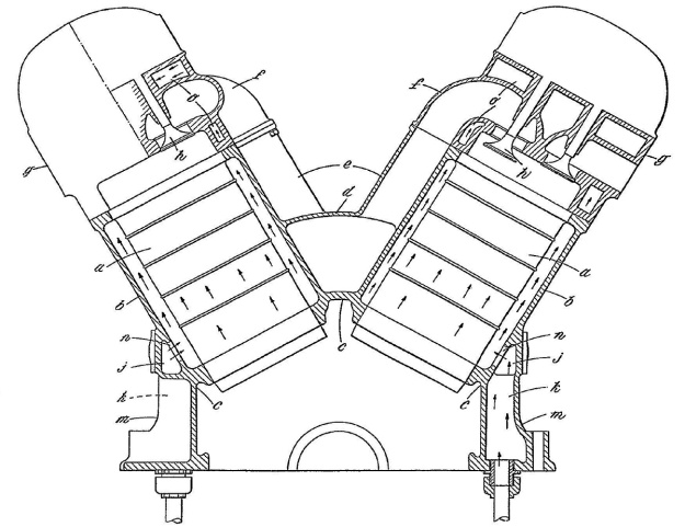Fairey P12 engine section