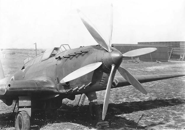 Fairey P24 Monarch Battle GB front