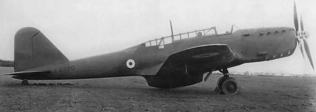 Fairey P24 Monarch Battle GB side