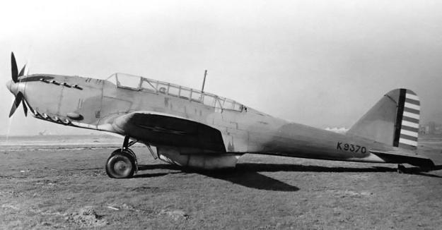 Fairey P24 Monarch Battle US side