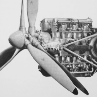 Fairey P.24 Monarch Aircraft Engine