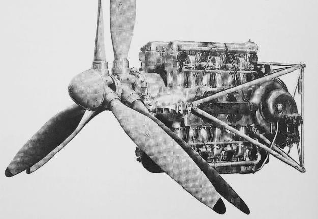 Fairey P24 Monarch engine