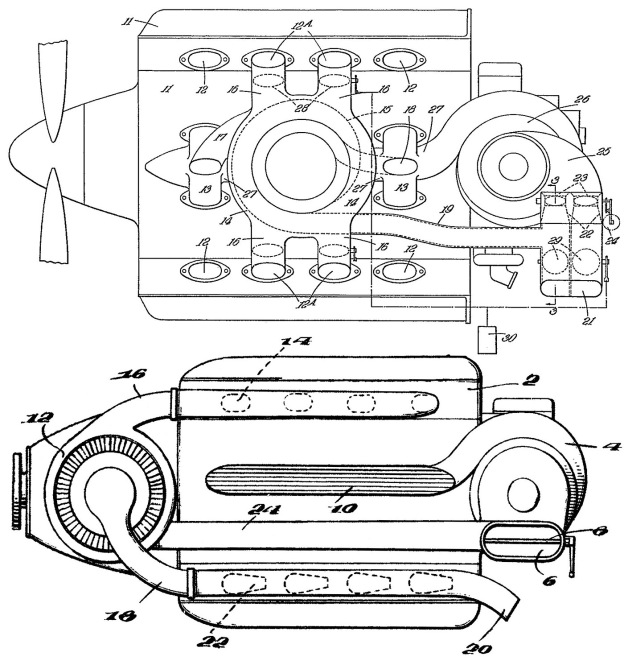 Fairey P24 Turbosuperchargers