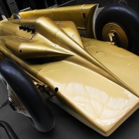Irving-Napier Golden Arrow LSR Car