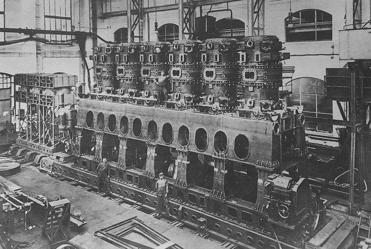 MAN Double-Acting Diesel Marine Engines | Old Machine Press
