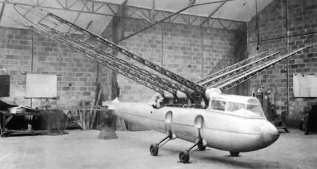 Riout 102T wing frame