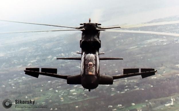 Sikorsky S-67 Blackhawk airbrakes