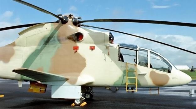 Sikorsky S-67 Blackhawk cockpit