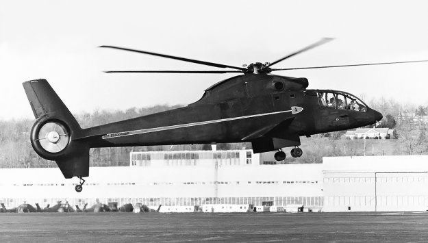 Sikorsky-S-67-Blackhawk-fan-in-tail