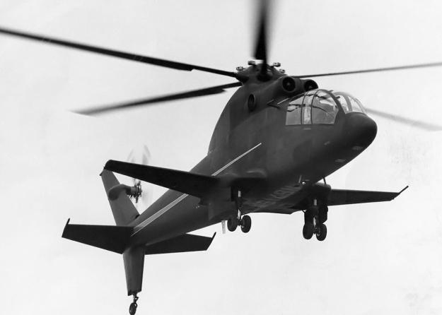 Sikorsky S-67 Blackhawk landing