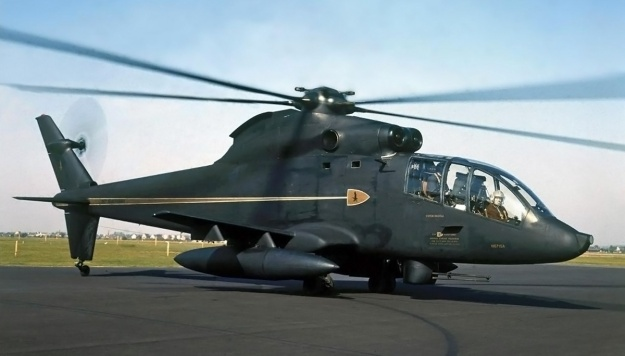 Sikorsky S-67 Blackhawk side