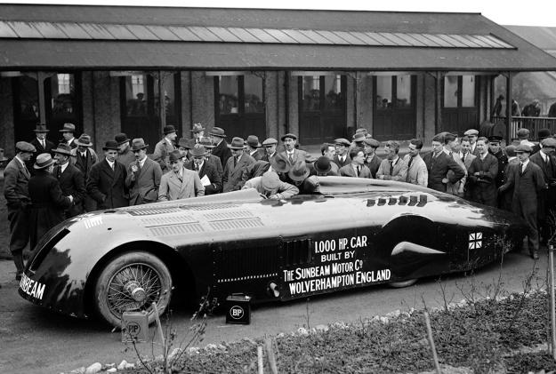 Sunbeam 1000 hp Mystery Slug debut