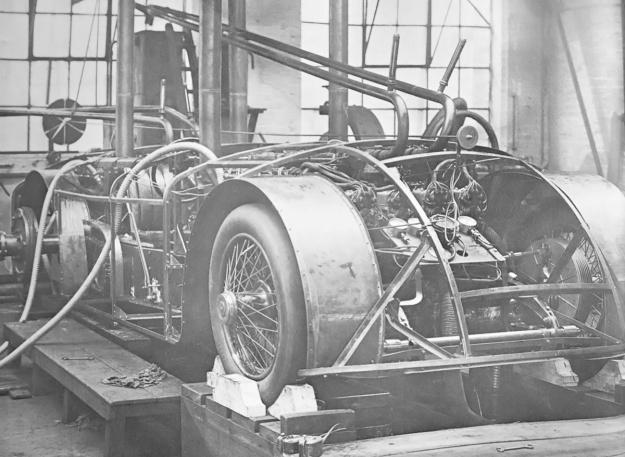Sunbeam 1000 hp Mystery Slug test