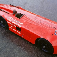 Sunbeam 1,000 hp Mystery Slug LSR Car