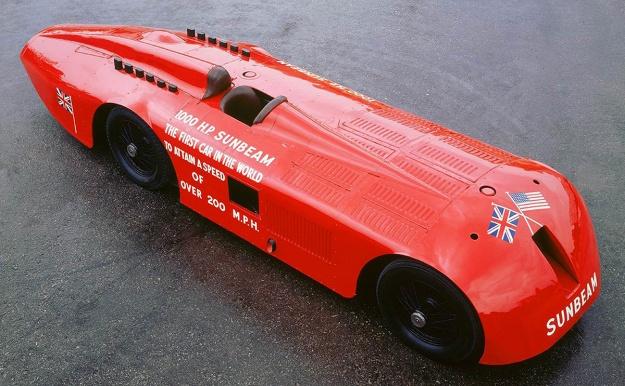 Sunbeam 1000 hp Mystery Slug top