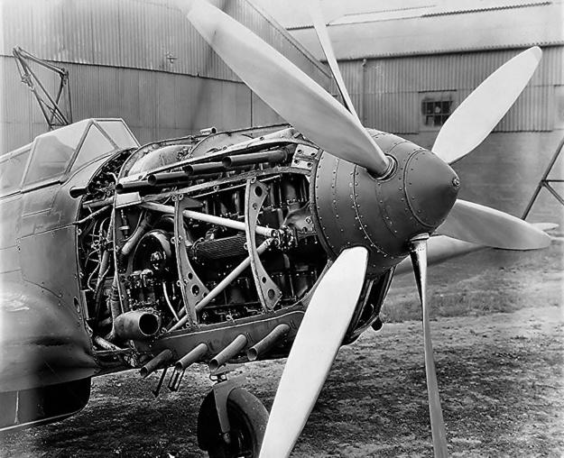 Fairey P24 Monarch Battle uncowled