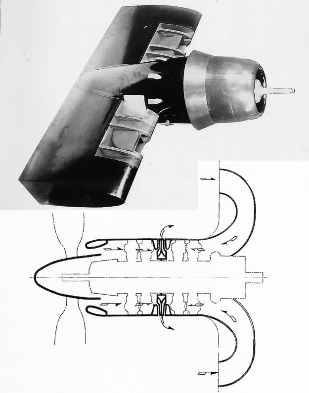 Nakajima HA-54 no turbo