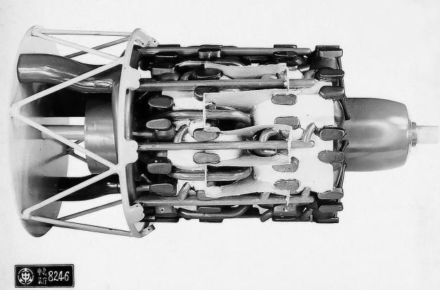 Nakajima HA-54 with baffles